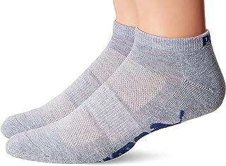Puma Socks - United Legwear Men's Low Cut Socks, Grey/Black, 10-13/6-12 (Pack of 6)