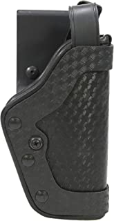 Uncle Mike's Mirage Basketweave Nylon Pro-2 Dual Retention Duty Jacket Holster (21, Right Hand)