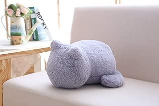 DAZZLE STRJ Children's Gift Plush Cat Toys Stuffed Cats Doll (Gray)