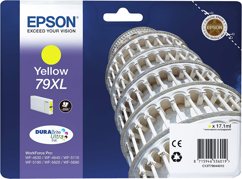 Epson Singlepack Yellow 79xldurabrite Yellow 79xl durabrite ultra