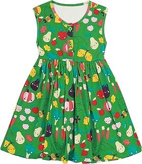 Robe verte pour bébé + tout-petit, en jersey de coton bio doux, grandit votre propre 6-12 jusqu'à 18-24 mois