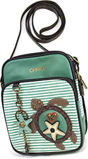 Chala Organizer Crossbody Cell Phone Purse-Women Faux Leather Multicolor Handbag with Adjustable Strap