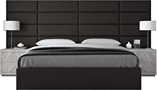 Best wall mounted leather headboard Reviews