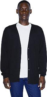 American Apparel Men Basic Knit Long Sleeve Cardigan