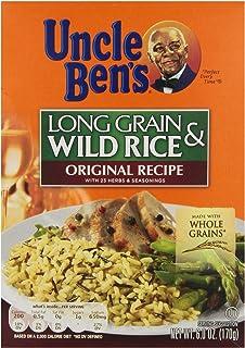 Uncle Ben's Long Grain and Wild Rice, 6 oz