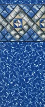 Smartline 20-Foot Round Manor Liner | Esther Williams Beaded Style | 48-Inch Wall Height | 25 Gauge Virgin Vinyl | Designed for Steel Sided Above-Ground Swimming Pools