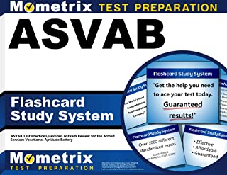 ASVAB Flashcard Study System: ASVAB Test Practice Questions & Exam Review for the Armed Services Vocational Aptitude Battery (Cards)