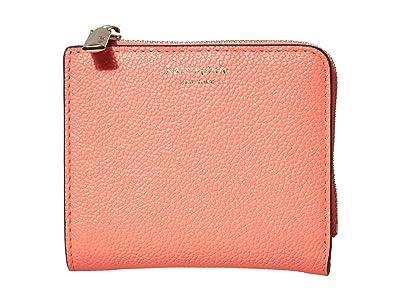 Kate Spade New York Margaux Small Bifold Wallet (Lychee) Bi-fold Wallet