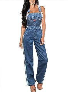Women's Classic Bib Overalls - Olive, Khaki and Denim Blue Jean