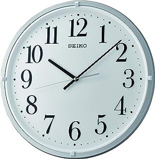 ساعة حائط انالوج بعقارب من سيكو QXA931S- اللون رمادي واسود