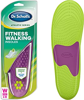 Dr. Scholl's FITNESS WALKING Insoles (Men's 8-14, Women's 6-10) // Reduce Stress and Strain on your Lower Body while you Walk