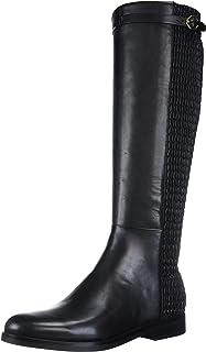حذاء برقبة للسيدات برباط مطاطي من Cole Haan مناسب للنساء الفروسية، جلد أسود، 6