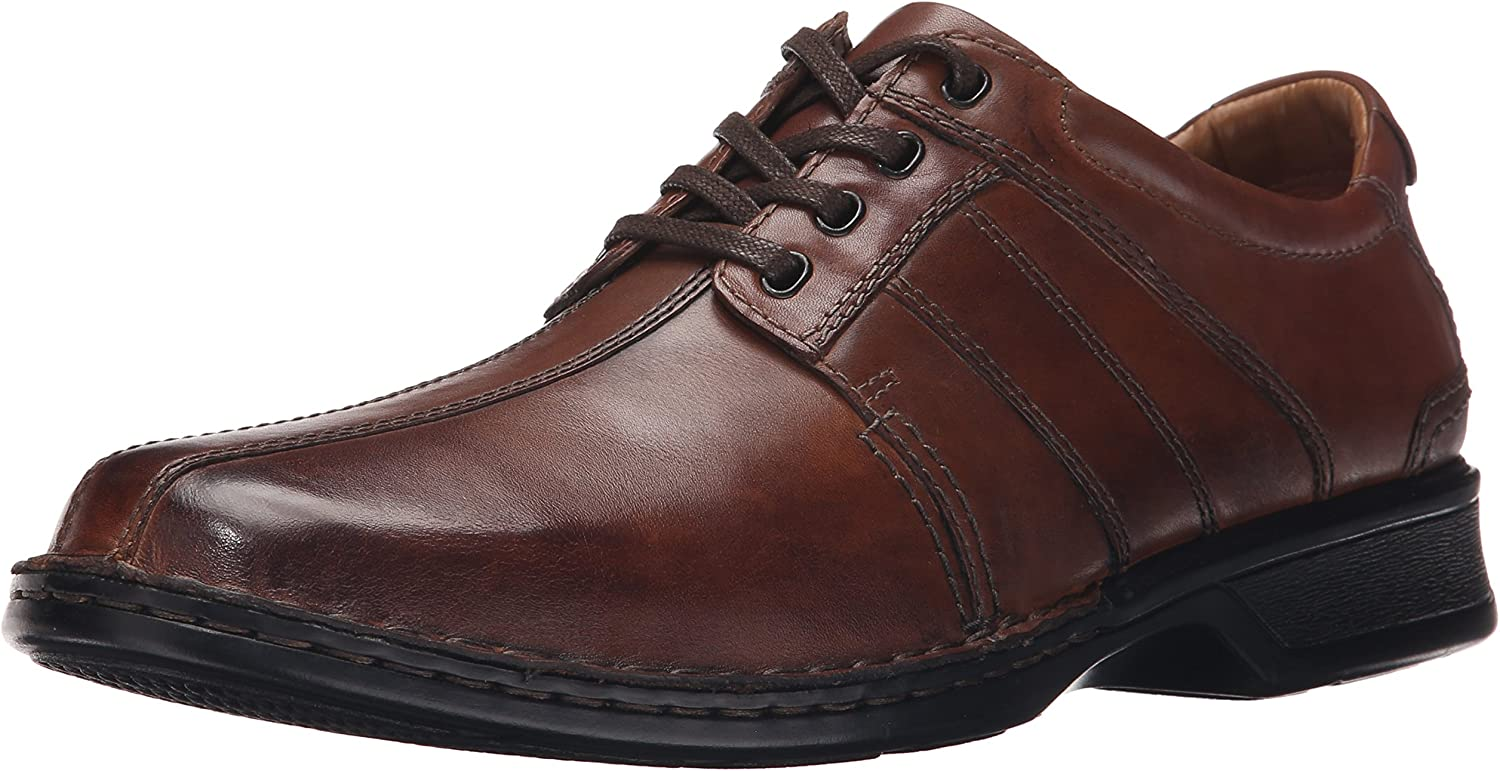 Clarks Men's Touareg Vibe Oxford,Brown,8 W US