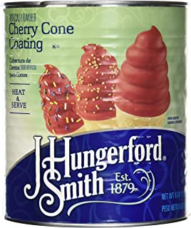 J Hungerford Smith Cherry Cone Coating, 108 Oz Can, 3 Pack