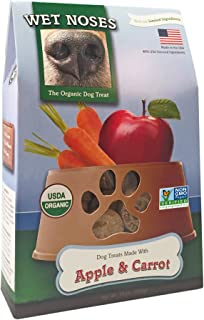 Wet Noses All Natural Dog Treats, Made in USA, 100% USDA Certified Organic, Non-GMO Project Verified, 14 Oz Box