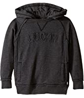 Lucky Brand Kids - Pullover Hoodie with Lucky Chest Logo (Toddler)