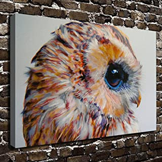 COLORSFORU Wall Art Painting Owl Prints On Canvas The Picture Landscape Pictures Oil For Home Modern Decoration Print Decor For Living Room