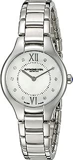 Raymond Weil Women's 5127-ST-00985 Noemia Analog Display Swiss Quartz Silver Watch