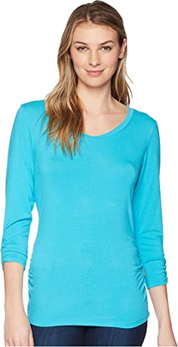 Tangier Odor Free 3/4 Sleeve Top