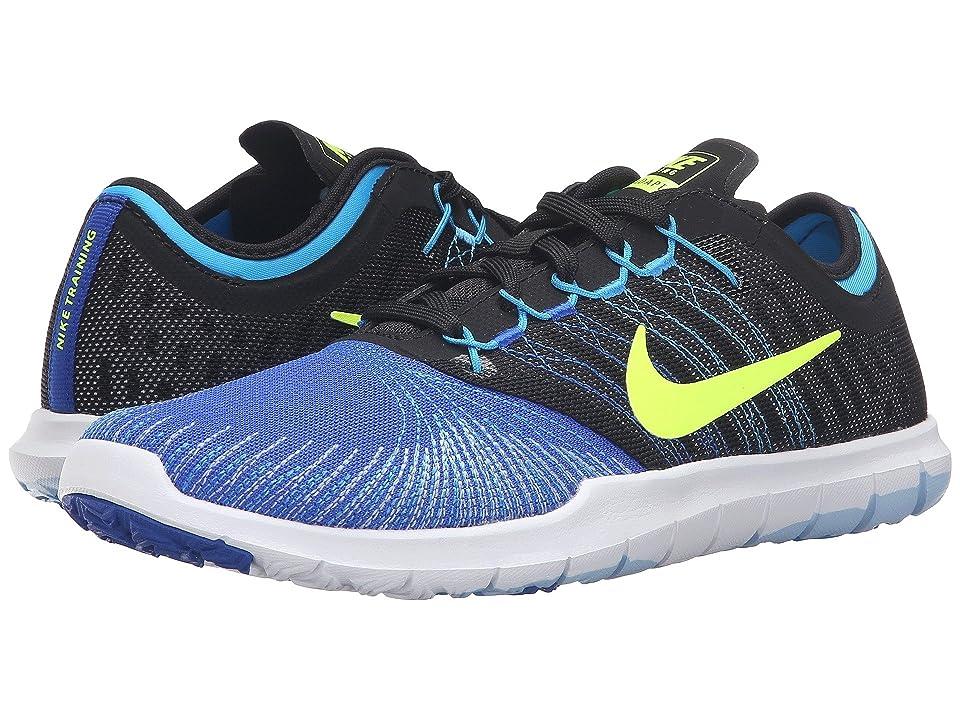 Nike Flex Adapt TR (Racer Blue/Black/Blue Glow/Volt) Women