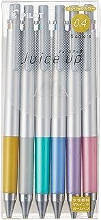 パイロット ゲルボールペン ジュースアップ 0.4 メタリックカラー 6色 LJP120S4-6CM