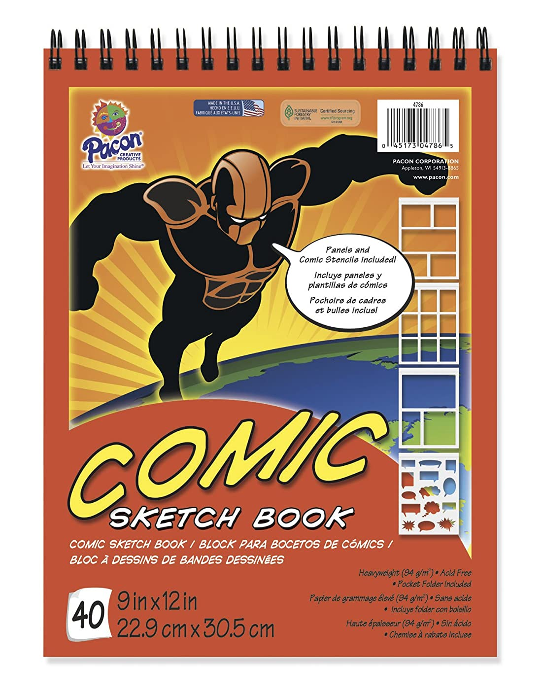 Pacon Comic Sketch Book, 9