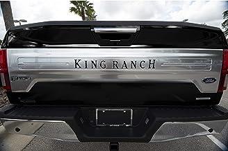 "TUFSKINZ   2018-up F-150 ""King Ranch"" Inserts - 9 Piece Kit (Matte Black)"