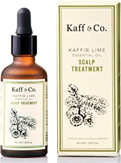 Kaffir Lime Essential Oil Leave On Scalp Treatment with Ginger Rhizome Extract - For Dandruff, Itchy, Unhea...