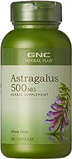 GNC Herbal Plus Astragalus 500mg, 100 Capsules, Immune and Anti-Aging Support