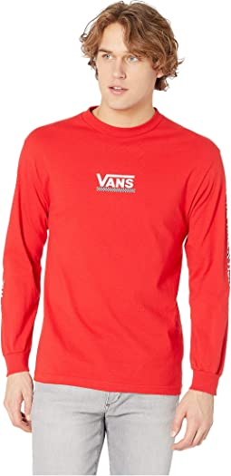 41d979f2d3 Racing Red. 12. Vans. Checkmate III Long Sleeve T-Shirt
