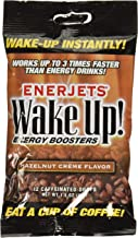 Enerjets Wake Up Energy Booster Drops, Hazelnut Creme Flavor - 12 Caffeinated Drops/Pack, 12 Packs