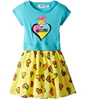 Moschino Kids - Heart Graphic T-Shirt & Skirt Set (Toddler/Little Kids)