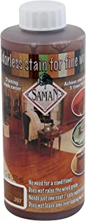 SamaN Interior Water Based Stain for Fine Wood, Cognac, 12 oz