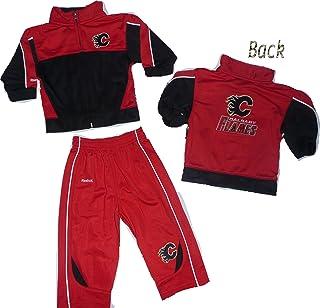 Calgary Flames 18 Months Full Zip Jacket & Pants Set Track Suit Infant Baby