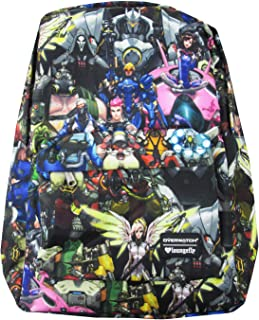 Loungefly x Overwatch Character Collage Allover-Print Backpack, multi, Standard