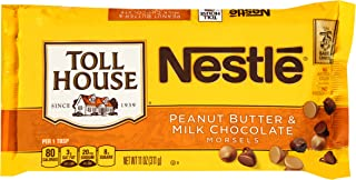 Nestle Toll House Peanut Butter and Milk Chocolate Morsel Mix, 11 Ounce