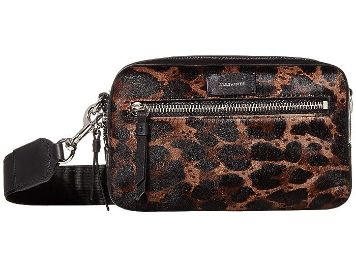 AllSaints  Kim Bumbag Crossbody (Black) Handbags