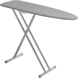 Mabel Home Ergo T-Leg Ironing Board with Silicone Coated Cover + Extra Cover