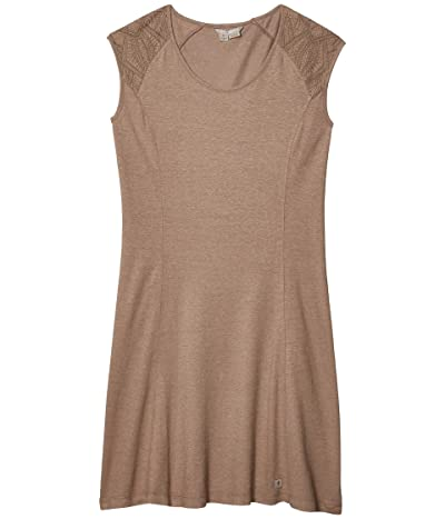 Royal Robbins Flynn Scoop Neck Dress (Light Taupe) Women