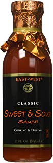 East-West Specialty Sauces, Classic Sweet and Sour, 12 Ounce (Pack of 4)