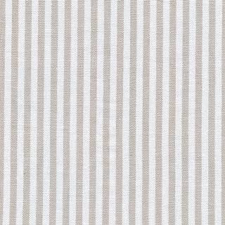 Tela beige y blanco - raya marina - 100% algodón suave | ancho: 150 cm (por metro lineal)*