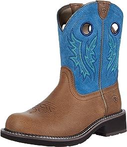 Cowgirl Caramel/Bluebird