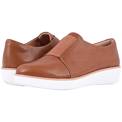 FitFlop Laceless Derby (Tumbled Tan) Women
