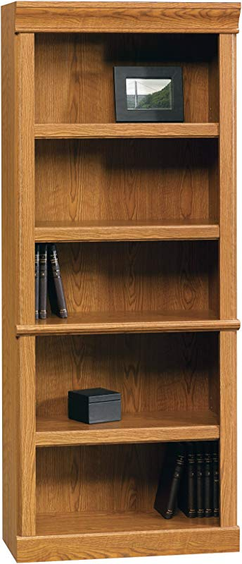Sauder 402172 Orchard Hills Library L 29 45 X W 13 47 X H 71 50 Carolina Oak Finish