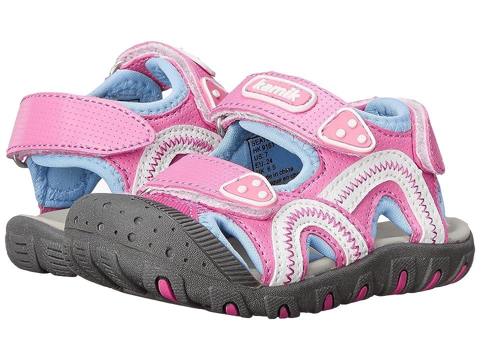 Kamik Kids Seaturtle (Toddler/Little Kid/Big Kid) (Pink 1) Girl
