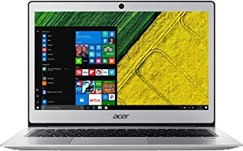 Acer Swift 1 13.3in display Intel Pentium 1.10GHz 4GB Ram 64GB Flash Win10Home (Renewed)