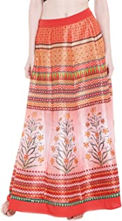 Fusion Beats Women Polyester Pink Skirt