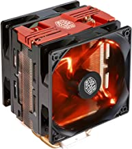Cooler Master RR-212TR-16PR-R1 Hyper 212 LED Turbo- Red Top Cover is Equipped with Dual 120mm PWM Fans Red LEDs CPU Cooler