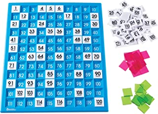 Learning Resources 120 Number Board (LER1332) 14.5x12.5x1.5 in