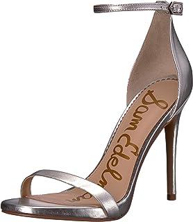 ccbf309714c09 Amazon.com  Silver Women s Heeled Sandals